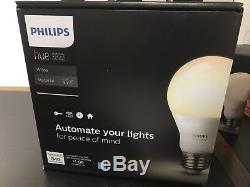 Ensemble Phillips Hue, Kit De Démarrage + Gradateur + 7 Ampoules Supplémentaires (blanc)