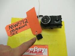 Fil Connecteur Tete De Lumière Phares Brouillard Interrupteur Tableau De Bord Dimmer Pour 07 08 Acadia