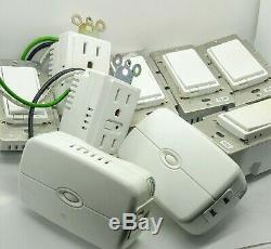 Ge Sortie Du Ventilateur Dimmer Light Switch Smart Wireless Home Automation 9 Pc Zw3005