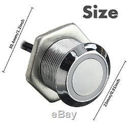 Glisteny Interrupteur De Détecteur De Type À Effleurement Pour Bande Led 5-24v DC 3a Light