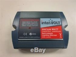 Gradateur D'éclairage À Commutation Intervolt N1816 Pour Bateau Marin 200/400 Watt 12/24 VDC