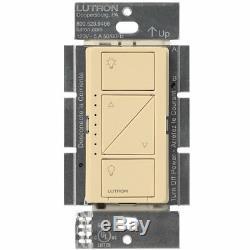 Gradateur D'éclairage Intelligent Lutron Caseta Sans Fil (paquet De 8) (ivoire)