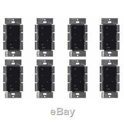 Gradateur D'éclairage Intelligent Lutron Caseta Sans Fil (paquet De 8) (noir)