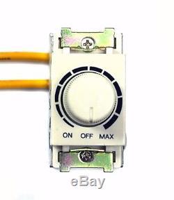 Gradateur De Commande D'éclairage De 50x Dc-306 + Charge De Commutateur Marche-arrêt = Ac220v-240v 800w Taiwan