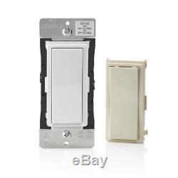 Gradateur De Lumière Intelligent Z Wave Technology 15 Ampères De Commutation Light Amande 5 Pack