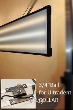 Gradateur De Lumière Pdr À 3 Bandes. No-switches. 3/4 Ball Pour Ultradent Collar