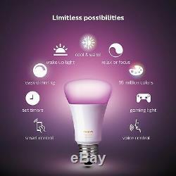Gradateur De Teinte Sans Fil Smart Switch Philips Smart Home Lights Télécommande Blanc