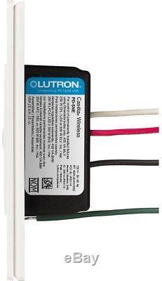 Gradateur Encastré Lutron 3.3 Amp 500 Watts Commande De Prise Programmable