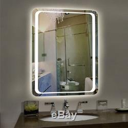 Gradateur Lumineux De Lumière De Miroir De Valité De Salle De Bains De Led, Contact De Contact Et Garniture Antibuée