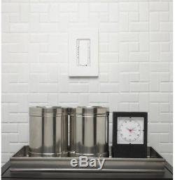 Gradateur Mural Lutron Gradable Cfl Ampoule Halogène À Incandescence Led 6 Pc