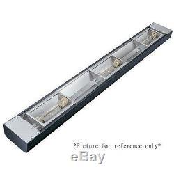 Hatco Grn4l-48 Étroite Lampe Halogène Avec Chaleur À Distance Gradateur Et Phares Au Xénon
