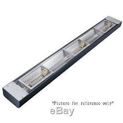 Hatco Grn4l-54 Lampe À Chaleur Halogène Étroite Avec Interrupteur Gradateur À Distance Et Lampes Au Xénon