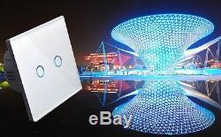 I Lumos Moderne Panneau Tactile En Verre, Gradateur, Télécommande Et Interrupteurs Wifi / 4g Led
