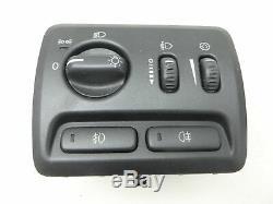 Interrupteur D'éclairage Bord De Gradateur Headlamp Mise À Niveau Licence Nuage Brouillard Pour Volvo S6