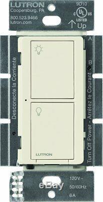 Interrupteur D'éclairage Intelligent Sans Fil Lutron Caseta Pour Lampes Et Ventilateurs (paquet De 6)