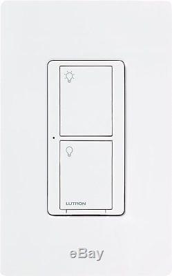 Interrupteur D'éclairage Intelligent Sans Fil Lutron Caseta (blanc) (paquet De 10)