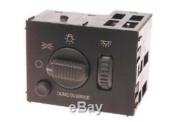 Interrupteur De Phare / Plafonnier Pour Panneau De Phares / Installateurs Équipement D'origine Acdelco Gm