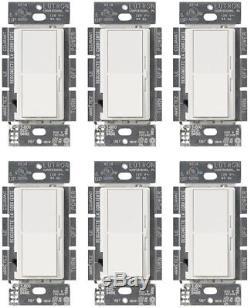 Interrupteur De Variateur Lutron 150 Watts, Commande De Palette À Bascule, 1,25 Amp, Blanc