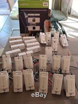Interrupteur Wifi De Wemo Dimmers & Swtich, Compatible Avec Alexa Et Google Asst