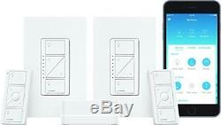 Kit De Démarrage Lutron Caseta Smart Lighting (2 Fils) Sans Fil, P-bdg