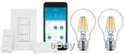 Kit De Démarrage Pour Interrupteur Gradateur D'éclairage Intelligent Sans Fil Ampoules Led Effet De Chaleur