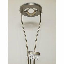 Lampadaire À Led De Forme Ovale Élégante De Lampe De Salon D'éclairage De Commutateur De Gradateur