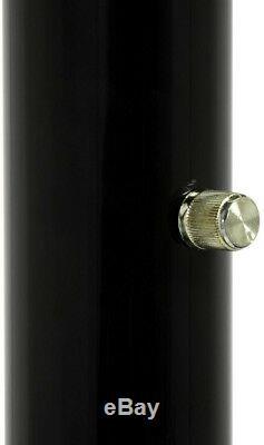 Lampadaire Noir 84 Po. Arc De Bras À 5 Ampoules Avec Interrupteur Variateur, Décor De Maison