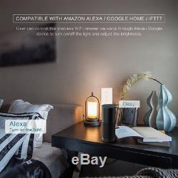 Le Commutateur Futé De Contact De Mur De Gradateur Léger De Wifi Led 1gang Fonctionnent Avec Alexa Google Ifttt