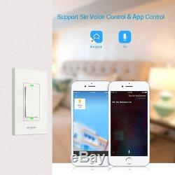 Le Gradateur Intelligent De Commutateur De Lumière De Wifi De Koogeek Fonctionne Avec Apple Homekit, Seulement Pour Simple