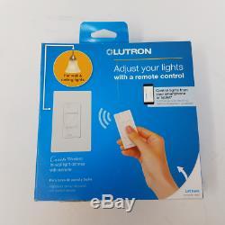 Le Kit De Démarrage De Commutateur De Gradateur D'éclairage Intelligent Sans Fil Lutron Caseta Fonctionne Avec Alexa