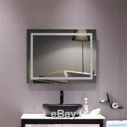 Led Miroir De Maquillage Lumière Withtouch Capteur Montage Mural Salle De Bains Lampe Gradateur Us