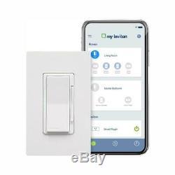 Leviton Decora Intelligent Wifi Rehostat Commutateur De Commande Alexa Google Assistant 2pqt