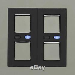 Lightwaverf Interrupteur Variateur De Lumière Principal Jsjslw420blk, 1 Voie, 250 W, Noir