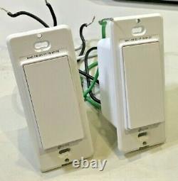 Lot De 10 Commutateurs Wi-fi Smart Light Switches & Dimmers, Travaille Avec Alexa & Google Ifttt