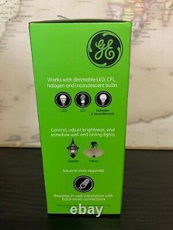Lot De 4 Ge 14294 Z-wave Plus In-wall Smart Dimmer Rocker Light Switch Zw3005