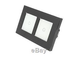 Lumos I Lumos Noir, Interrupteurs Tactiles, Variateur De Lumière Et Télécommande Wifi