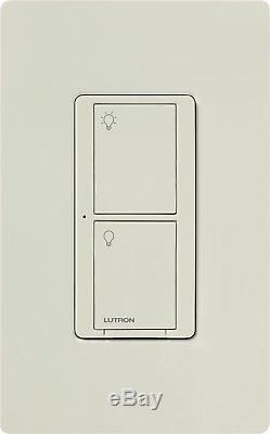 Lutron Caseta Commutateur D'éclairage Intelligent Sans Fil Pour Lumières Et Ventilateurs (lot De 8)