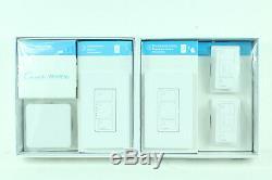 Lutron Caseta Gradateur D'éclairage Intelligent Sans Fil (2 Unités) Kit De Démarrage Alexa