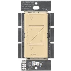 Lutron Caseta - Gradateur D'éclairage Intelligent Sans Fil (paquet De 6) (ivoire)