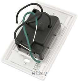 Lutron Caseta Kit De Démarrage De Commutateur De Gradateur D'éclairage Intelligent Sans Fil M, P-bdg-pkg1w