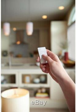 Lutron Caseta Lighting - Kit De Démarrage Intelligent Sans Fil Avec Interrupteur Variateur De Lumière, 2 Unités