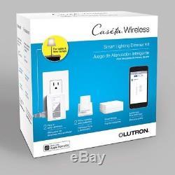 Lutron Caseta Sans Fil Smart Light Control Light Gradateur Mural Nouveau