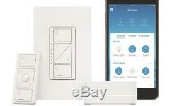 Lutron Caseta Smart Wireless Light Wall Tactile Commutateur Panneau De Configuration Wifi