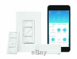 Lutron Caseta Smart Wireless Lumineux Commutateur Starter Kit, P-bdg-pkg1w