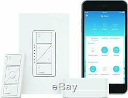 Lutron Caseta Smart Wireless Lumineux Commutateur Starter Kit P-bdg-pkg1w W
