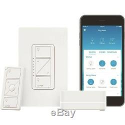 Lutron Caseta Smart Wireless Lumineux Commutateur Starter Kit (p-bdg-pkg1w)