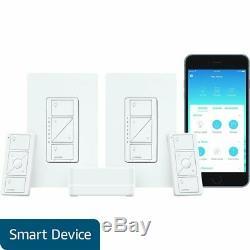 Lutron Caseta Wireless Gradateur D'éclairage Intelligent (2 Points) Kit De Démarrage