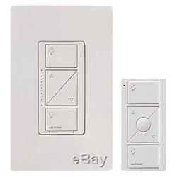 Lutron Caseta Wireless Gradateur D'éclairage Intelligent Et Kit De Télécommande Pour Mur