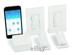 Lutron Caseta Wireless Lighting Éclairage Variateur (2 Comptes) Starter Kit