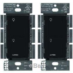 Lutron Caseta Wireless Smart Switch Switch Tous Les Types D'ampoules Et Les Ventilateurs (paquet De 2)